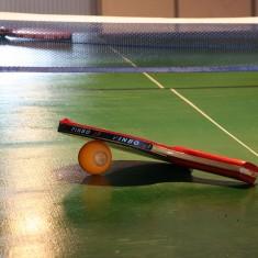 Настольный теннис помогает вспомнить навыки совместной игры и восстановить координацию движений.